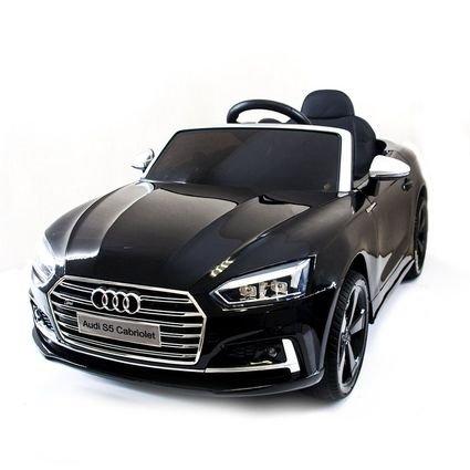 Электромобиль Audi S5 Cabriolet LUXURY (колеса резина, сиденье кожа, пульт, музыка)