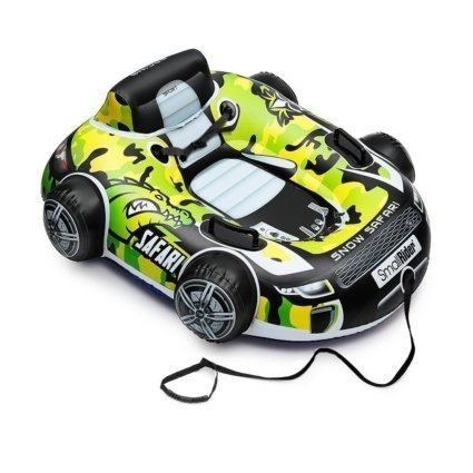 Cанки-тюбинг Small Rider Snow Safari 2 зеленый (надувные, бескамерные, до 100 кг, размер 107х90см)